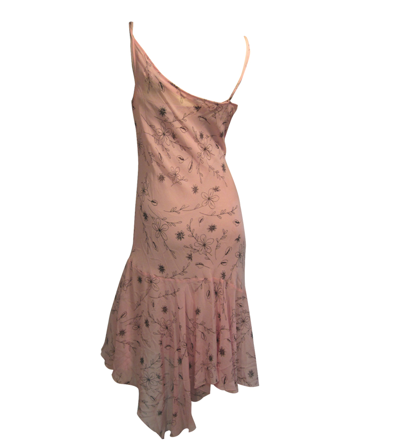 Silk Party Cocktail Dress
