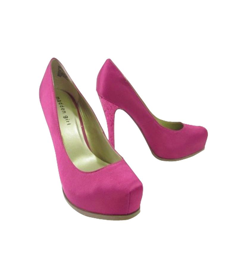 40db433f082 Hot Pink Glitter Heel