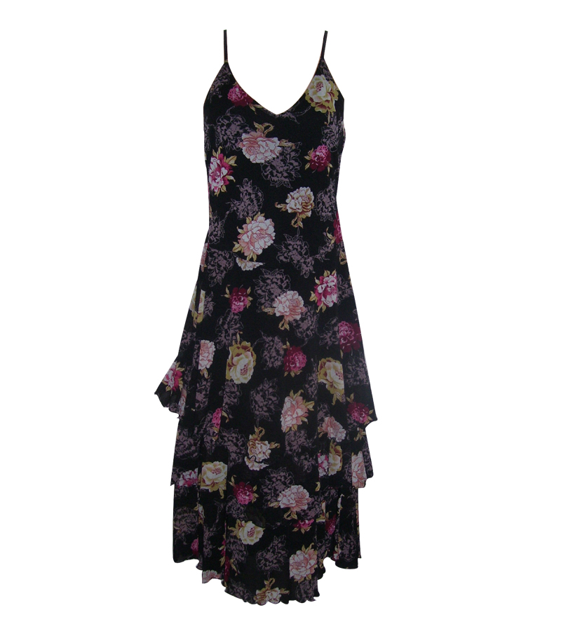 Small tiered dress floral