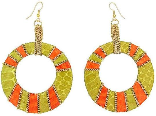 Bollywood Colorblock Earrings
