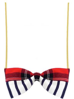 Red Preppy Necklace